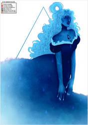 Blue Diamond + Lapis Fusion [Speedpaint] by H0nk-png