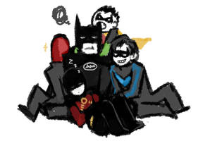 batman and robins by suyoung-jun