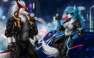 Cyberpunk by Max-Dragon