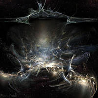 Time Continuum Rupture by fractaldreamer