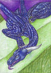 ACEO commision - I love my marzipan! by SybilaSulfur