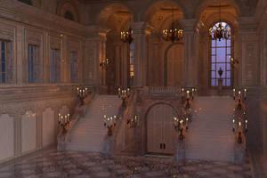 The Foyer of the Grand Opera by kummindrottning