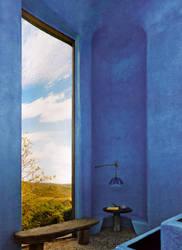 Blue Corner by kummindrottning