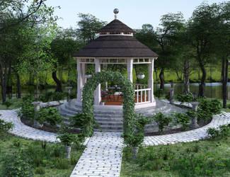 Linata's Garden by kummindrottning