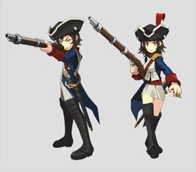 Musketeer - KLS Heroes by KyuRazz