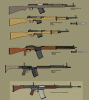 Guns of Araea: The Infantry Rifle Trials by Kazanlak10