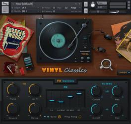 Vinyl Classics for Kontakt. by vStyler