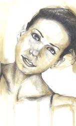 Julia + Coffee Painting by sketchgrind