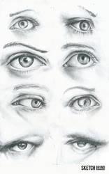 Eye Practice by sketchgrind