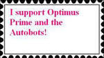 I support Optimus Prime by fanfictionaxis