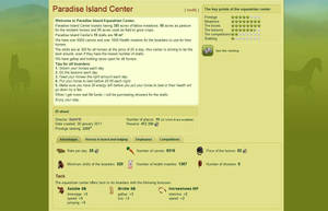 Paradise Island Center by fanfictionaxis