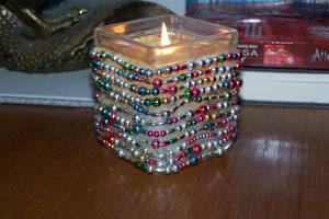 Custom designed candle holder by fanfictionaxis