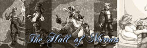 New banner for Hall of Mirrors. by fanfictionaxis