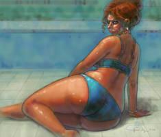 poolside by JoonSong