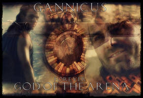 Spartacus - Gannicus Forever God of the Arena by Gatergirl79