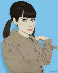 Digital Zooey by Zooey-Deschanel-Club