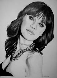 Zooey Deschanel by emzilie by Zooey-Deschanel-Club
