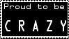Crazy - Stamp by GothicTearDrop