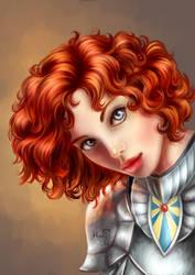 Warpriest of Ashanne by HarukArt