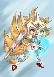 Japanicon ID 10 Mecha Prime by HarukArt