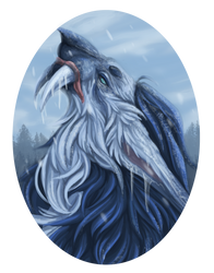 Maahes of the Frost. by GHOST-FEVER