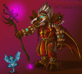 Pandion, Savoir of Azeroth by YamiGriffin