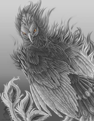Shadow Pheonix by YamiGriffin