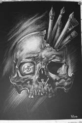 Skull by MarinaYa