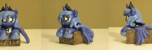 Free Pony Luna My Little Pony Custom Sculpture by Blackout-Comix