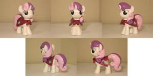 Sweetie Belle CMC Custom Sculpt Commission 2 by Blackout-Comix