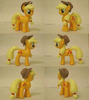 Applejack My Little Pony FiM Sculpture Commission by Blackout-Comix