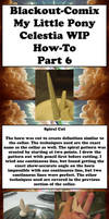 Celestia WIP How-To Tutorial Part 6 by Blackout-Comix