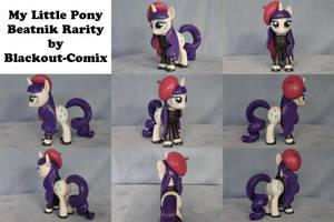 Beatnik Rarity My Little Pony by Blackout-Comix
