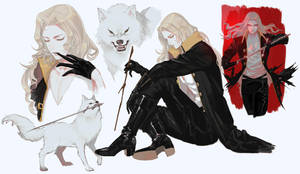 Netflix Castlevania Alucard 2 by NightArmster