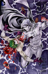 MoonKnight kills Joker by ArtOfIDAN