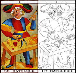 Do You Believe In Magic Tarot Embroidery Pattern by Scoop51