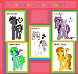 (OPEN) Adoptables Mares Batch #1! by FlutterFlyAdopts