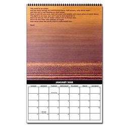 2008 Calendar - January by hamlet279