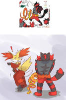 Fire pee by unknownlifeform