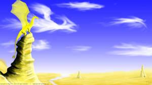 Sentinel dragon by xTernal7