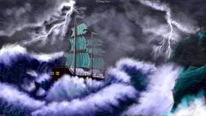 Stormy Seas by xTernal7