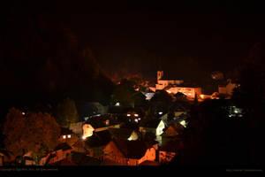 Zelezniki at night by xTernal7