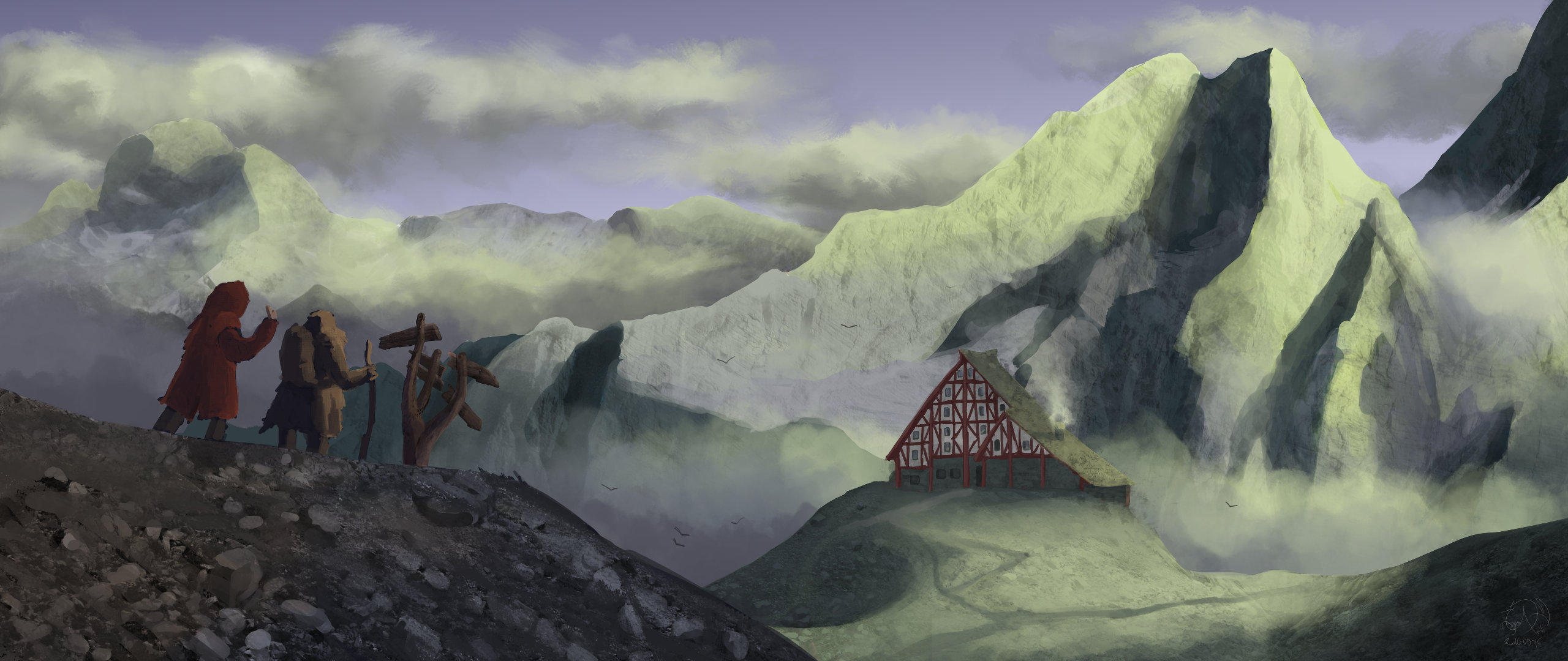 Mountain path by xTernal7