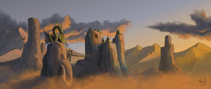 The Wyvern Peaks (v2.0) by xTernal7