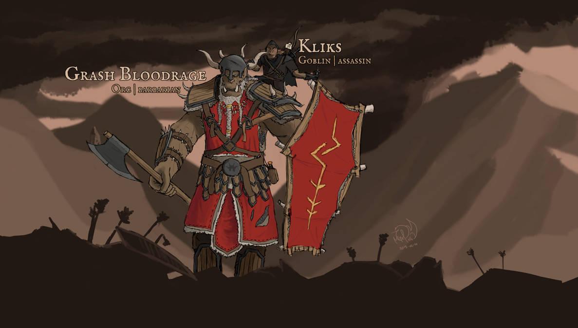 Grash and Kliks by xTernal7