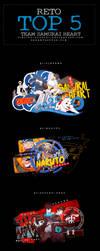 Top5-Team Samurai Heart by Jinjiro-Higuchi