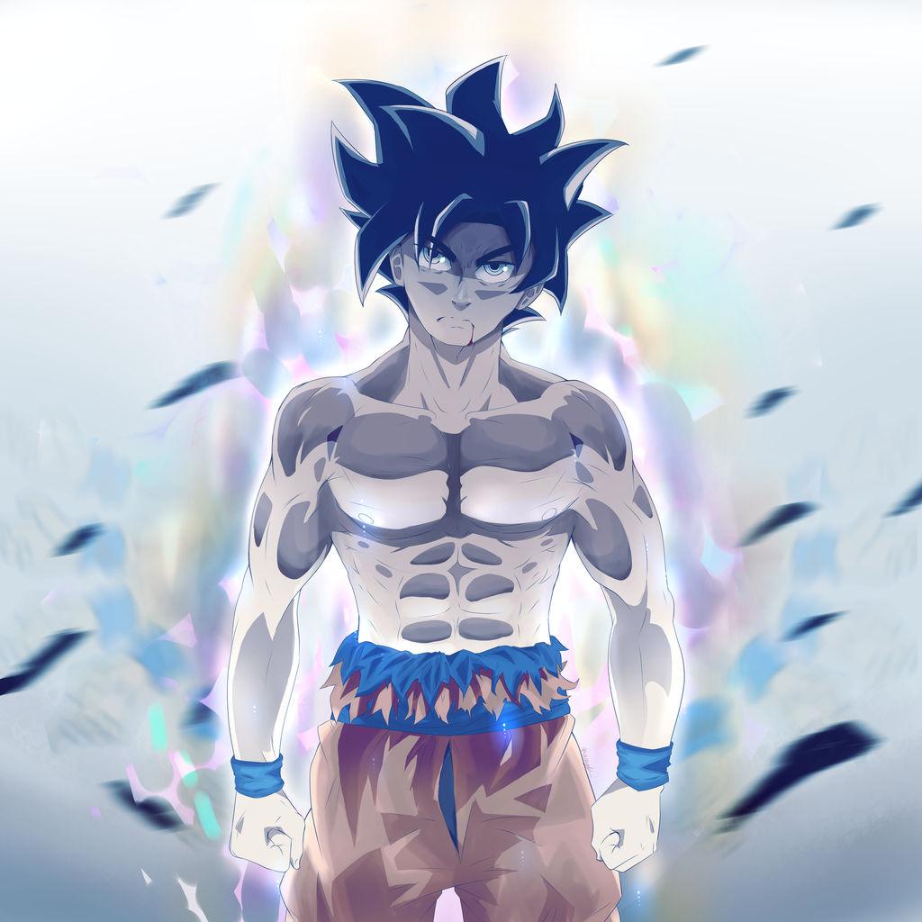 Goku ultra instinct by artguykai on deviantart - Goku ultra instinct sketch ...