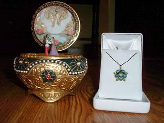 My Anastasia Music Box and Key by Autumn-Artist93