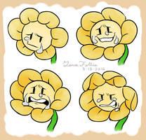 More Flowey Doodles by KitkatzSnatcher