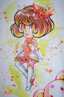 Star Guardian Annie skin idea loli traditional art by JamilSC11